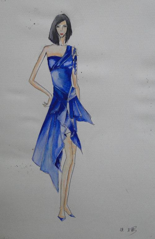 流行服装设计图展示