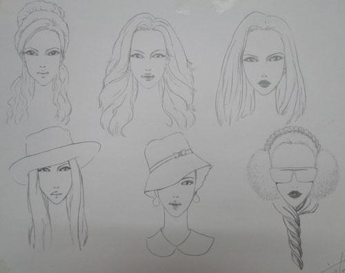 设计图分享 服装设计图 简笔画 > 简笔画 设计图 手绘 线稿 简笔画